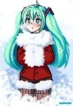 Vocaloid - Christmas miku by Barbariank