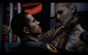 Shepard and SuZe by Bebbe88