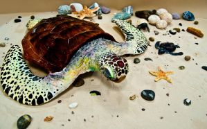 Turtle Sculptures by xXNami-sanXx