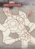 Sketchcard commission Nova by cheeks-74