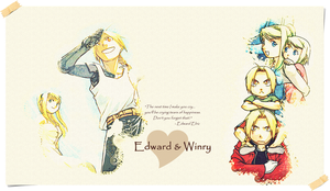 Edward and Winry 2 by simplyKia