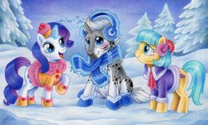 'Have these to keep you warm' -MLP commission- by MacGreen