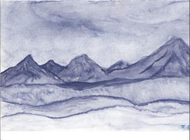 My Verra First Watercolor by sneakolai