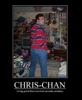 Chris-Chan Demotivational by FacepalmPunch