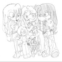 Happy Family by SonicRose
