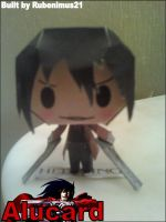 Chibi Alucard Papercraft Finished by rubenimus21
