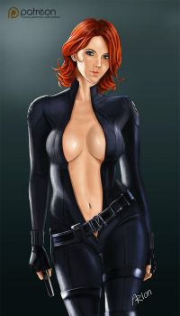 Black Widow by arion69