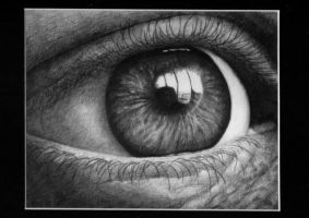 graphite eye by rasberry6