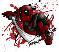 Fun with Deadpool by moloko-plus