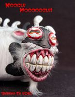The Mutated Cow says by Undead-Art