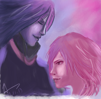Caius and Lightning by assinas