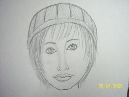 Girl Wearing a Hat by tom-girl5973