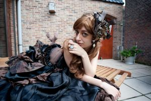 Clockwork Dress 11 by Kawaii-x-Stock