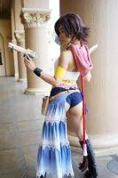 Gunner Yuna: Repose by DollyLollipop