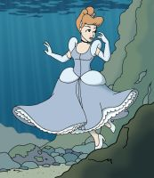 Trash the Princess - Cinderella by underwatertoons