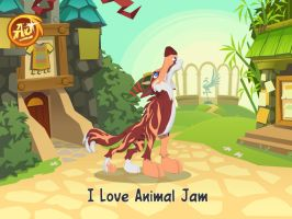 i join the Animal Jam! by moonofheaven1