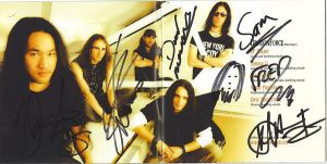 Dragonforce Autograph by Ozzyhelter
