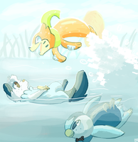 No Time Fer Relaxashun by Tanglecolors