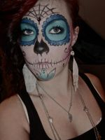Mexican Sugar Skull -Front view by AlexKruse