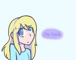 I'm Back (redraw) For Coolkittythecool  by emilyldraws0303