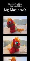 Knitted Plushies - Big Macintosh by haselwoelfchen