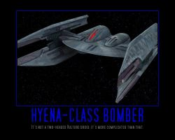 Star Wars The Clone Wars Hyena-class Bomber by Onikage108
