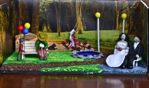 From autumn to ashes.. A diorama by preethi524