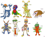 Fanmade Digimon by demonoflight