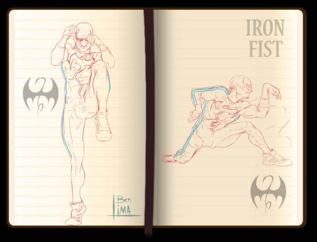 Iron Fist roughs Stance by rubenslima