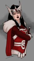 Lady Sif by rosythorns