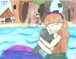 Calliroa and Stream by Karebear-4ever