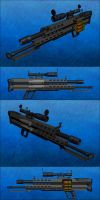 M-9002 Squad Specialist Weapon by Raven-Gold