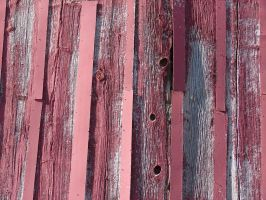 Red Painted Wood Texture by FantasyStock
