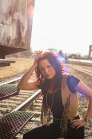 Shooting at old Train Station by ToGa-Design