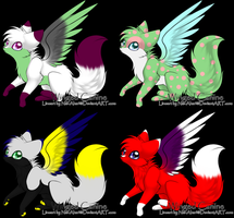 Winged Canine Adopts -open- by DiloAdopts
