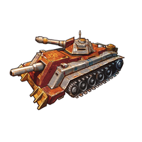 Salvatican Main Battletank by GleamingScythe