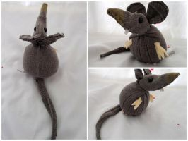Chester the Rat by IckyDog