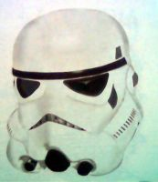 STORMTROOPER AIRBRUSHED by javiercr69