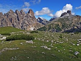 Mountains - Dolomiti di Sesto 2 by Sergiba