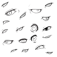 Eye dump :3 by BeefxCake