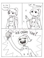 Ice-cream time! by nevermindgirl1970