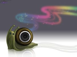Sound Snail by ultravioletbat