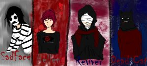 CreepyPasta OCs by mio-san13