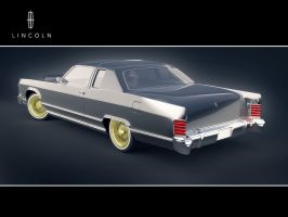 Lincoln Continental V2 by CubicalMember