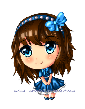 Tiny Chibi Example by Lucina-Waterbell