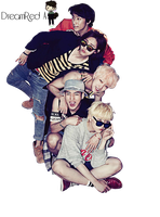 B1A4 Render #2 by DreamRedA