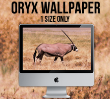 Oryx Wallpaper - 1 size only by shwutpasta
