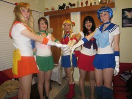 Sailor Scouts by Katay