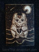 Owl Key by SatraThai