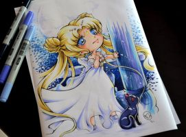 Chibi Princess Serenity by Lighane